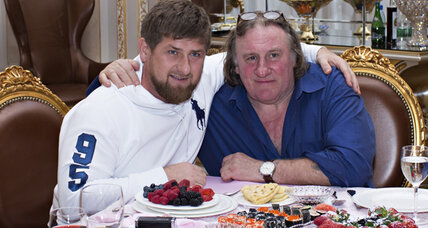 Newly Russian, Gérard Depardieu tours his adopted homeland