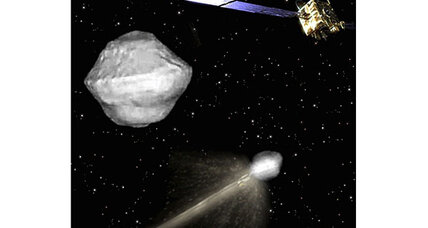 Unsuspecting target chosen for asteroid-smashing mission