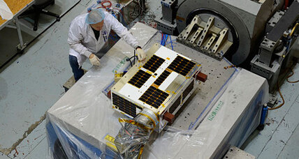 Small Canadian satellite to hunt big space rocks