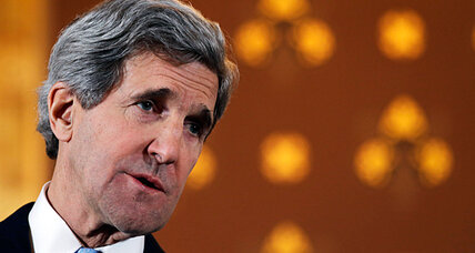 John Kerry hints at more aid for Syria rebels. Does that mean arming them?