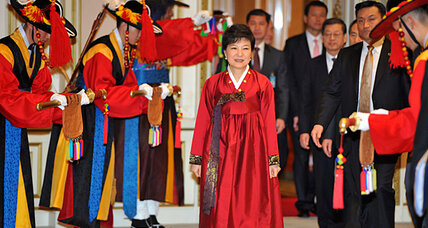 South Korea's first female president inaugurated today. Will she bring change? (+video)