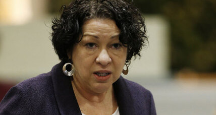 Sonia Sotomayor criticizes prosecutor for 'racially charged remark'