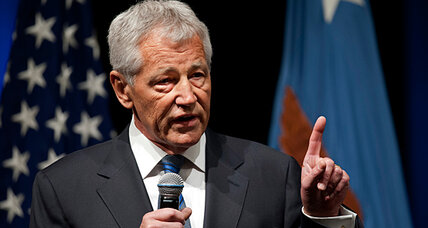 Chuck Hagel sworn in as Defense secretary. Will he be sorry?