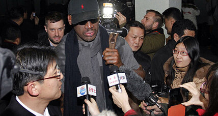 Can Dennis Rodman's 'basketball diplomacy' make a difference in North Korea? (+video)