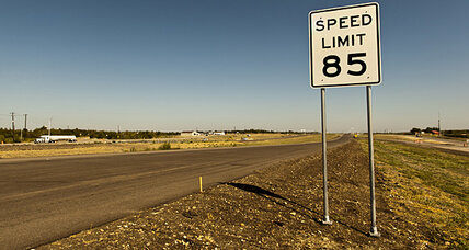Nevada considers 85 mph speed limits