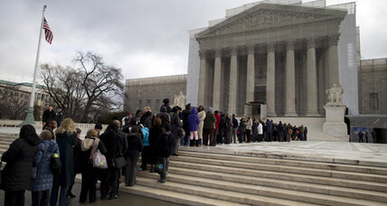 Voting Rights Act case: Supreme Court questioning is lively, pointed