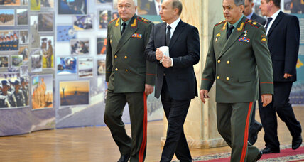 Circling the wagons? Putin urges 'drastic upgrade' to Russia's military