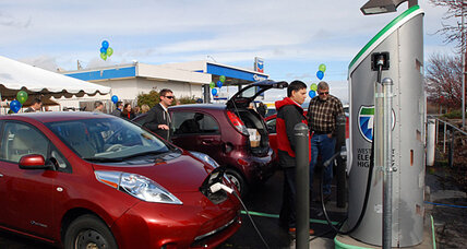 Are California's electric-car charging stations too congested?
