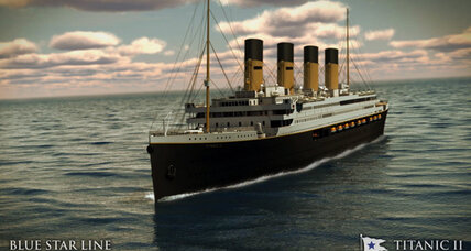 Titanic II: Billionaire launches plans for replica of doomed ship