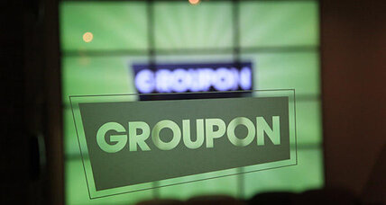 Groupon stock tumbles on disappointing year's end