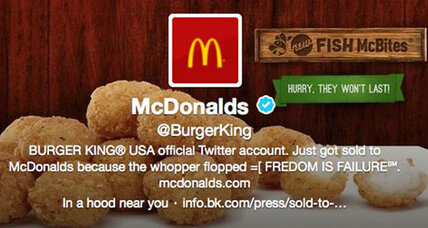 Hacker takes over Burger King Twitter account
