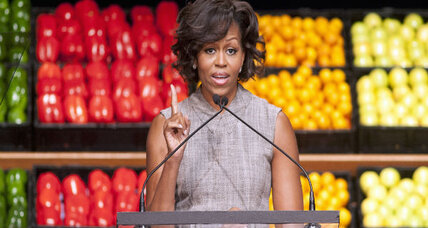 First lady's anti-obesity campaign ignites change in food industry