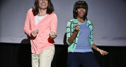 Michelle Obama's 'Evolution of Mom Dancing' rocks YouTube (+video)