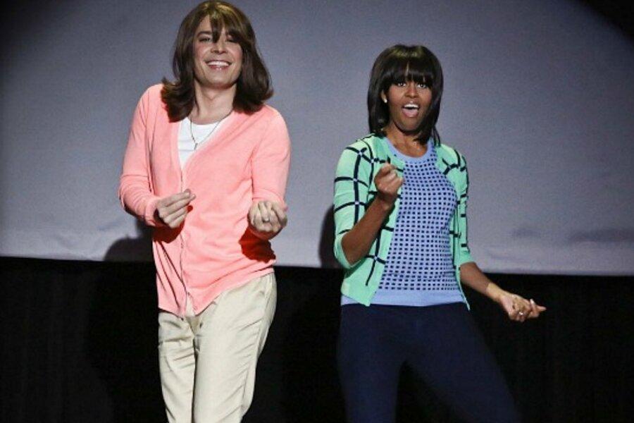 Michelle Obama's 'Evolution of Mom Dancing' rocks YouTube