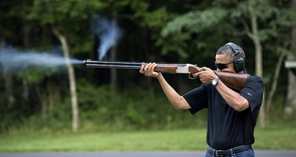 Politicians and guns: Why it's important that Obama shoots skeet
