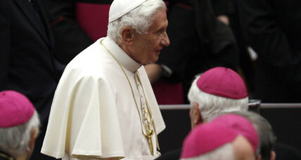 Pope Benedict XVI announces he's stepping down