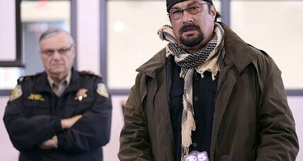 Steven Seagal joins school guard posse: Do we need more action heroes in schools?