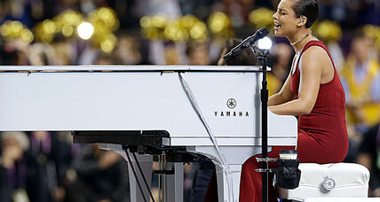 Alicia Keys national anthem rendition was the longest –  and bankable