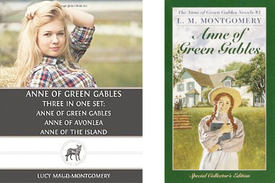 Blonde Anne Of Green Gables A New Cover Displeases