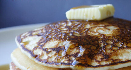 Buttermilk pancakes for Pancake Day