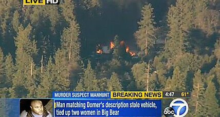 Christopher Dorner update: Body found in burned cabin (+video)