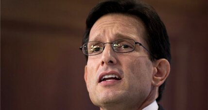 Can a kinder, gentler Eric Cantor 'rebrand' Republicans?