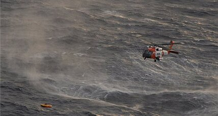 Family on sinking boat: Coast Guard increases overnight search