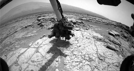 NASA's Curiosity ready to drill first Mars rock
