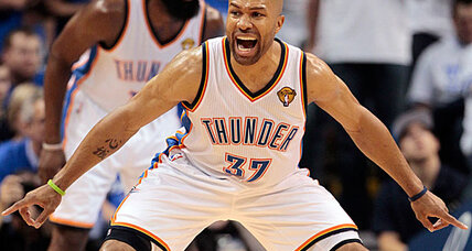 Derek Fisher returns to Oklahoma City Thunder
