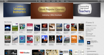 Take a lesson from Apple: iTunes U tops 1B downloads