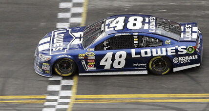 After quiet week, Jimmie Johnson makes some noise winning Daytona 500