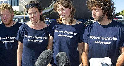 Lucy Lawless fined $547 for trespassing on Arctic oil drilling ship