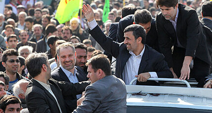 Is Iran's Ahmadinejad going rogue as his term ends?