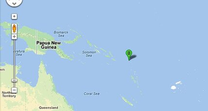 Pacific earthquake hits Solomon Islands: Tsunami warning issued
