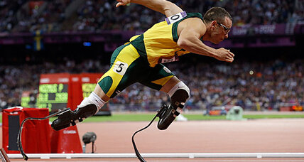 Oscar Pistorius, the 'Blade Runner,' charged with the murder of his girlfriend (+video)