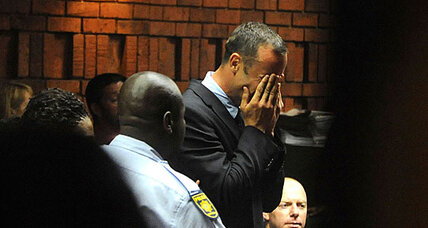Pistorius weeps in court amid charges of premeditated murder