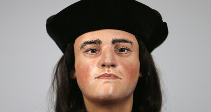 Day after discovery announcement, King Richard III's reconstructed 'face' unveiled