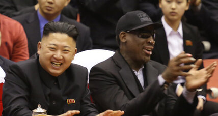 Friends forever: Rodman warms to North Korean dictator
