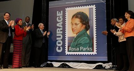 Rosa Parks honored with new stamp