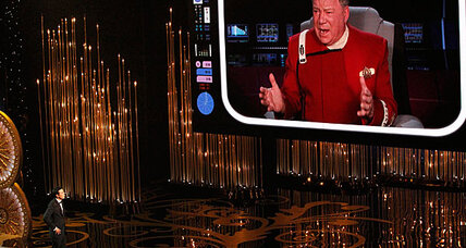 William Shatner can't save Seth MacFarlane at Oscars