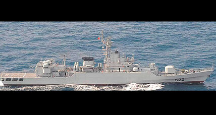 China Navy frigate locked weapons radar on Japanese destroyer