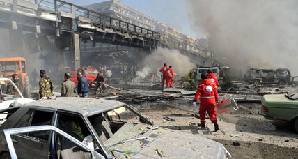 Dozens killed in Damascus car bombing