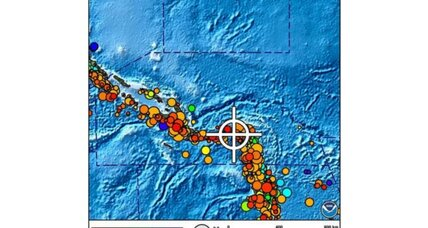 Pacific earthquake: Small tsunami hits Solomon Islands