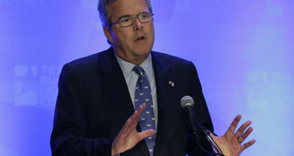 Jeb Bush sounding more like a presidential candidate