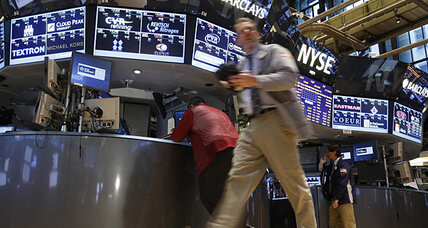 Stocks rise, pushing Dow back near record