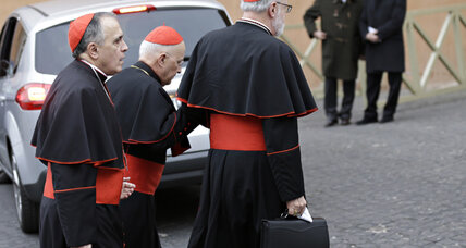For next pope, cardinals want youngish, polyglot MBA-type (+video)