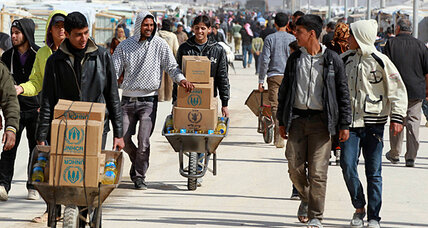 Nearly 1 in 20 Syrians are now refugees (+video)