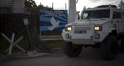UN peacekeepers pull out of Syrian-Israeli DMZ as civil war edges closer
