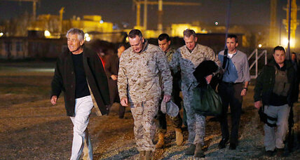 In Afghanistan, Hagel faces early test: how many troops to leave behind