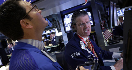Stocks rise on burst of hiring